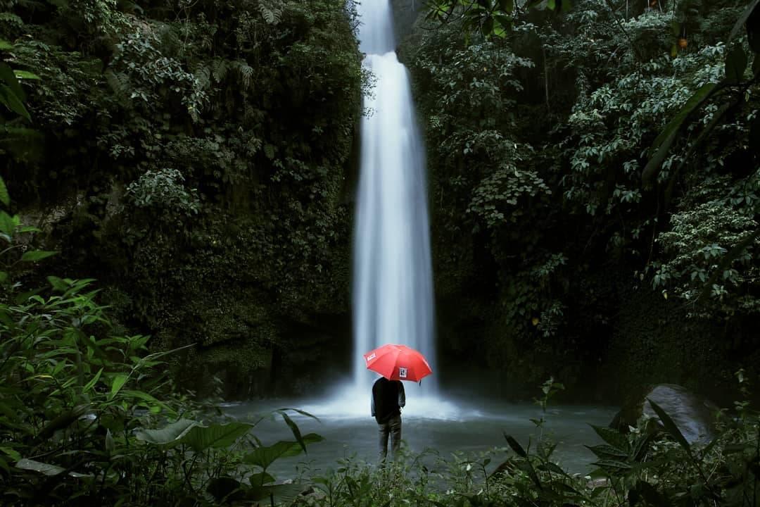 Air Terjun Lematang Indah Sumatra Selatan Indonesia