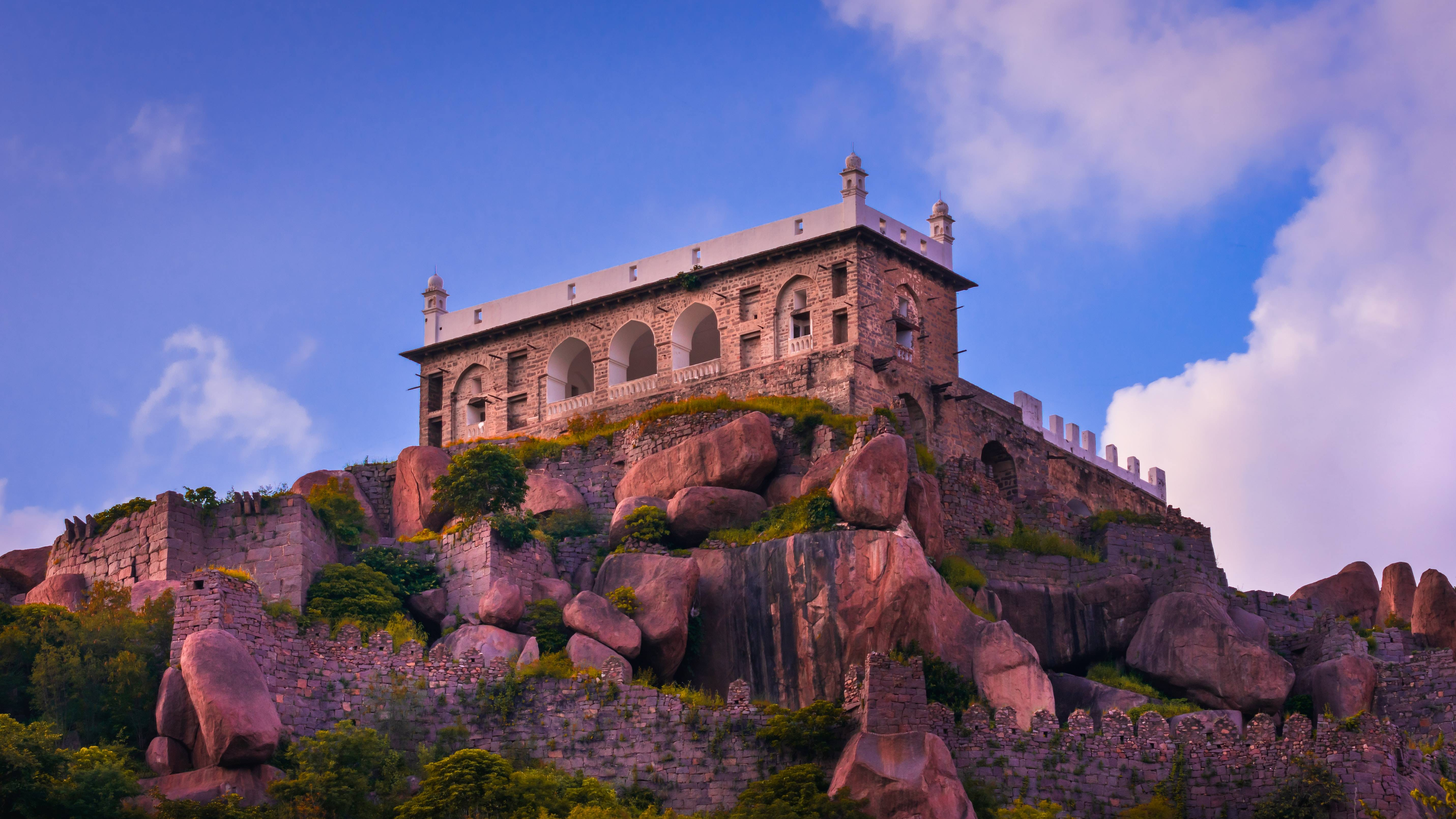 Golconda Fort, Hyderabad, India