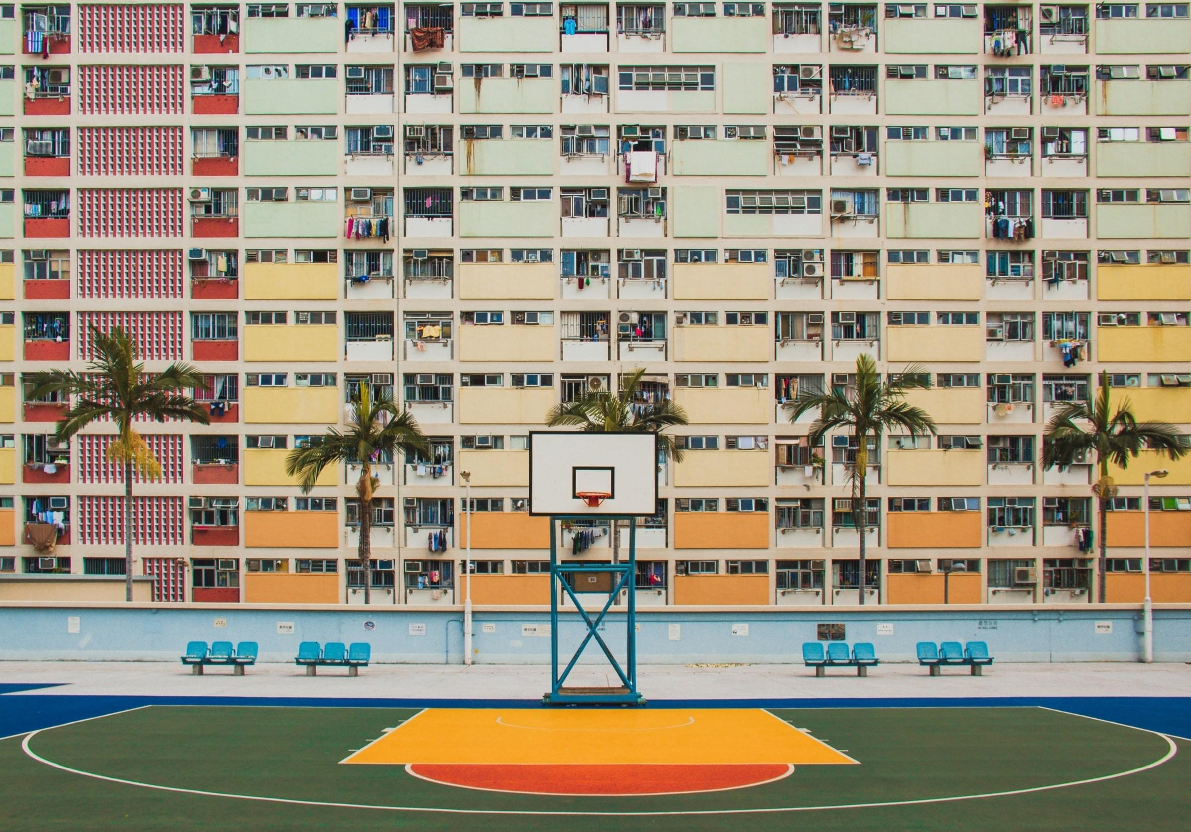 Flats in Hong Kong