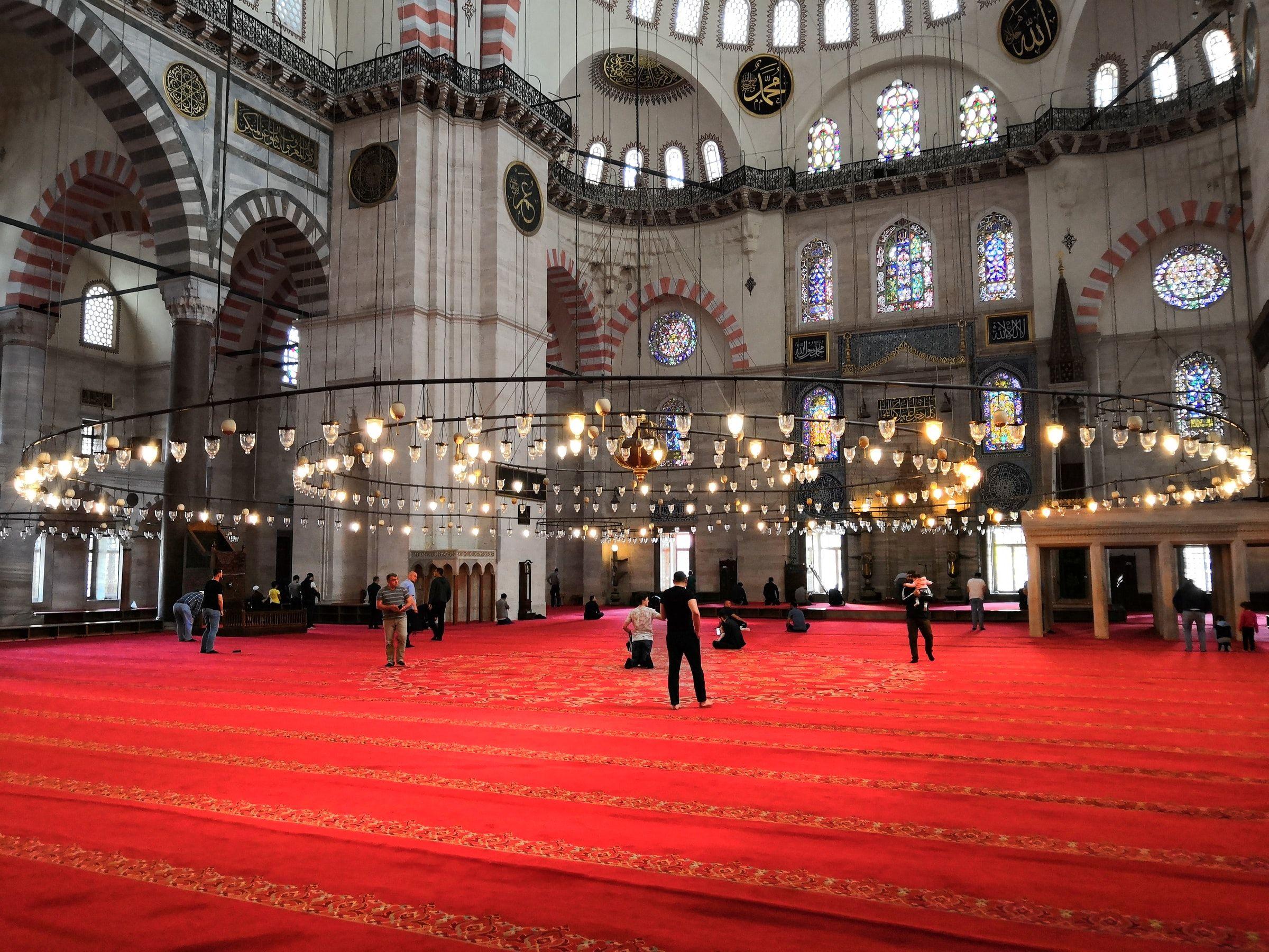 Camii'nin İs Odasi