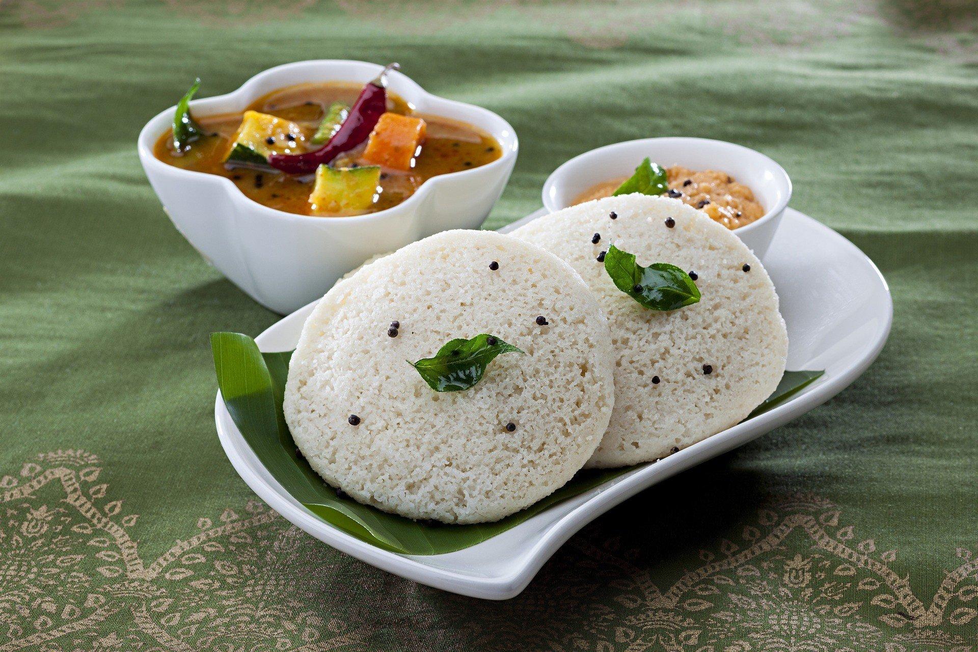 Idli Chennai India Street Food