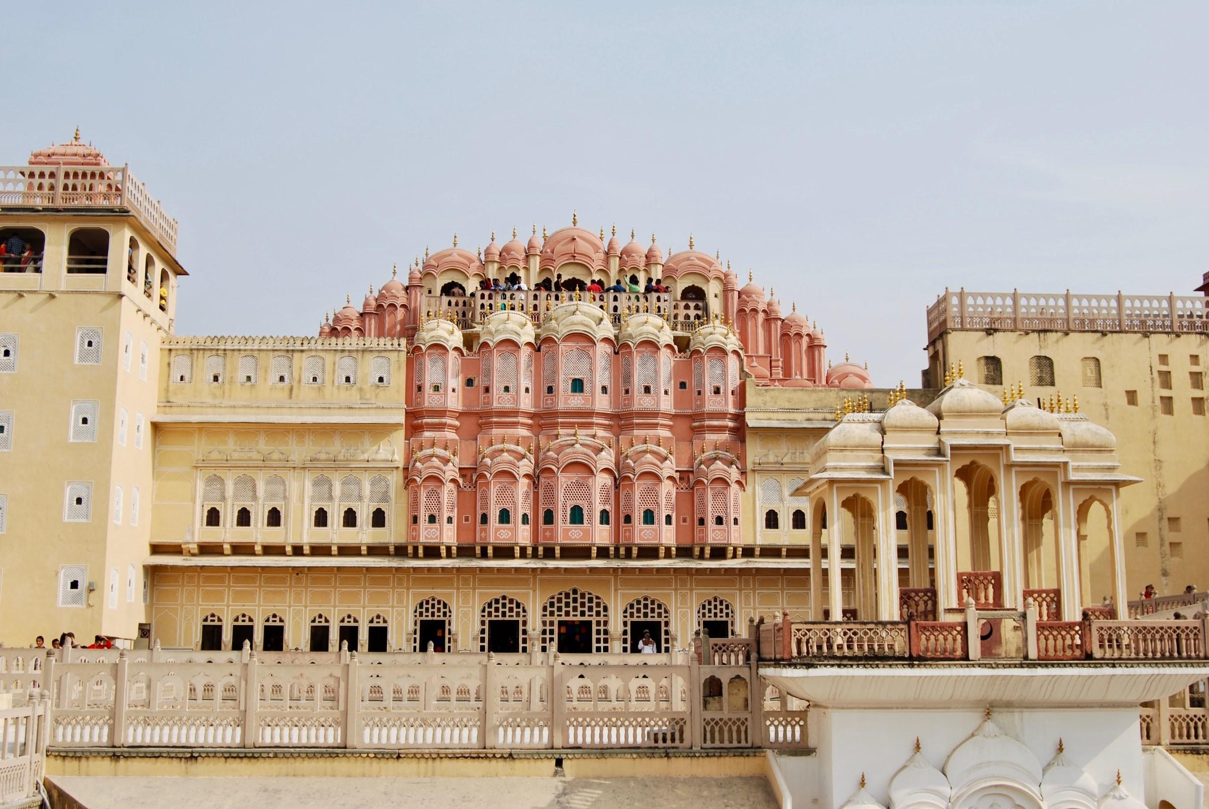 Jaipur India Hawa Mahal City Palace Nahargarh Jaigarh Fort Jal Mahal