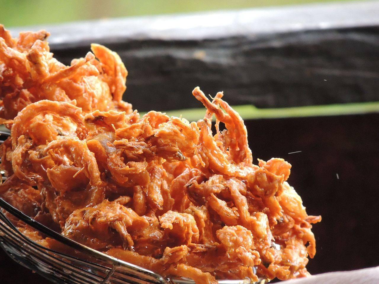 Bhajji Chennai India Street Food