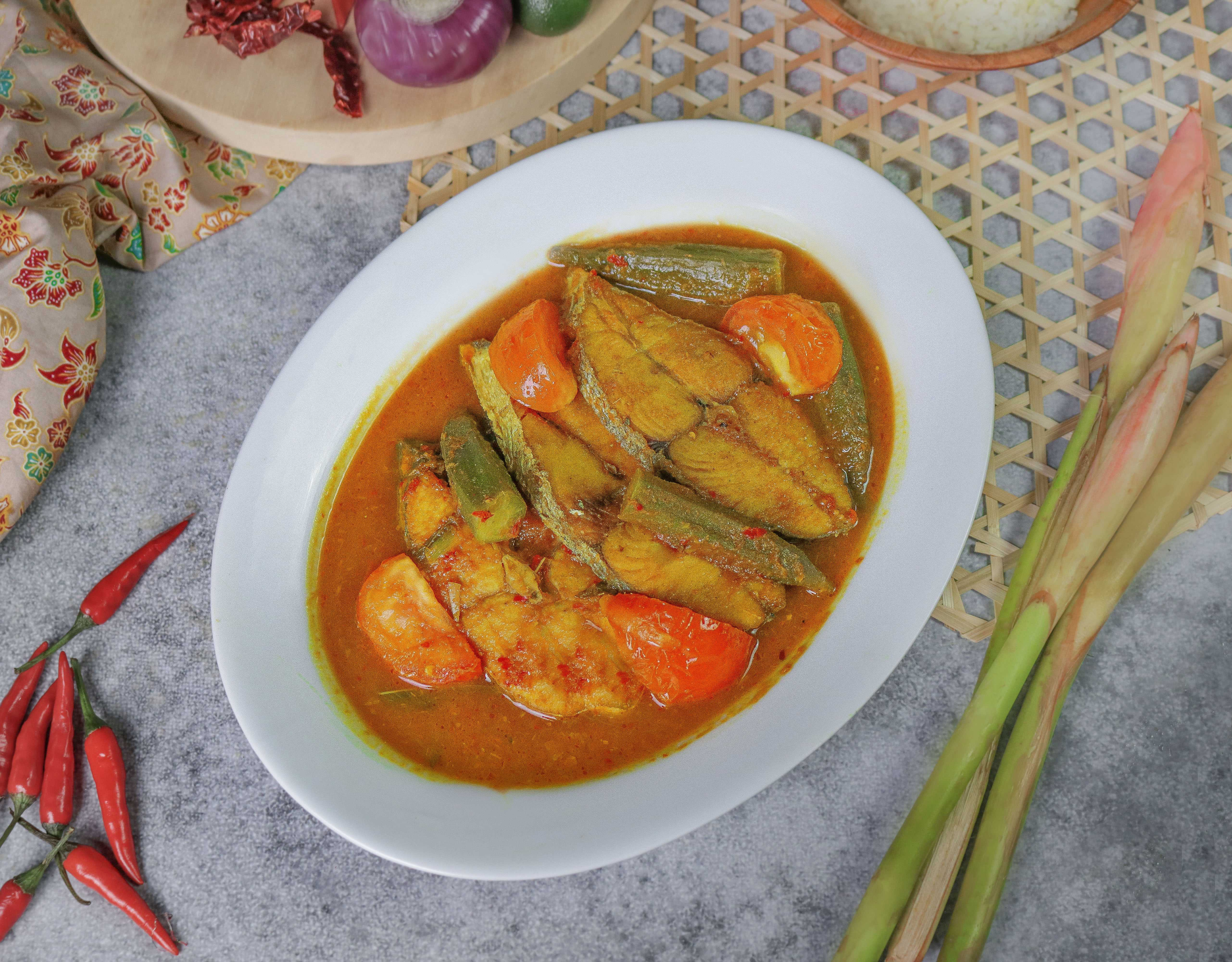 Chef Wan Penang Culture Mackerel in Spicy and Sour Gravy Gerang Asam