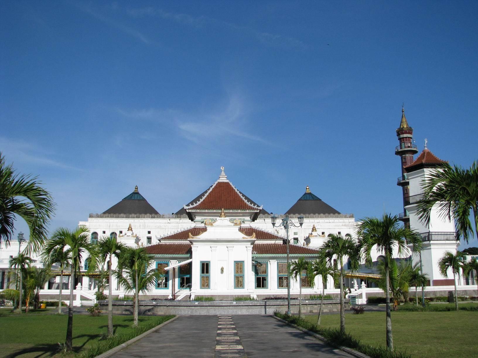 Masjid Agung Palembang Sumatra Selatan Indonesia