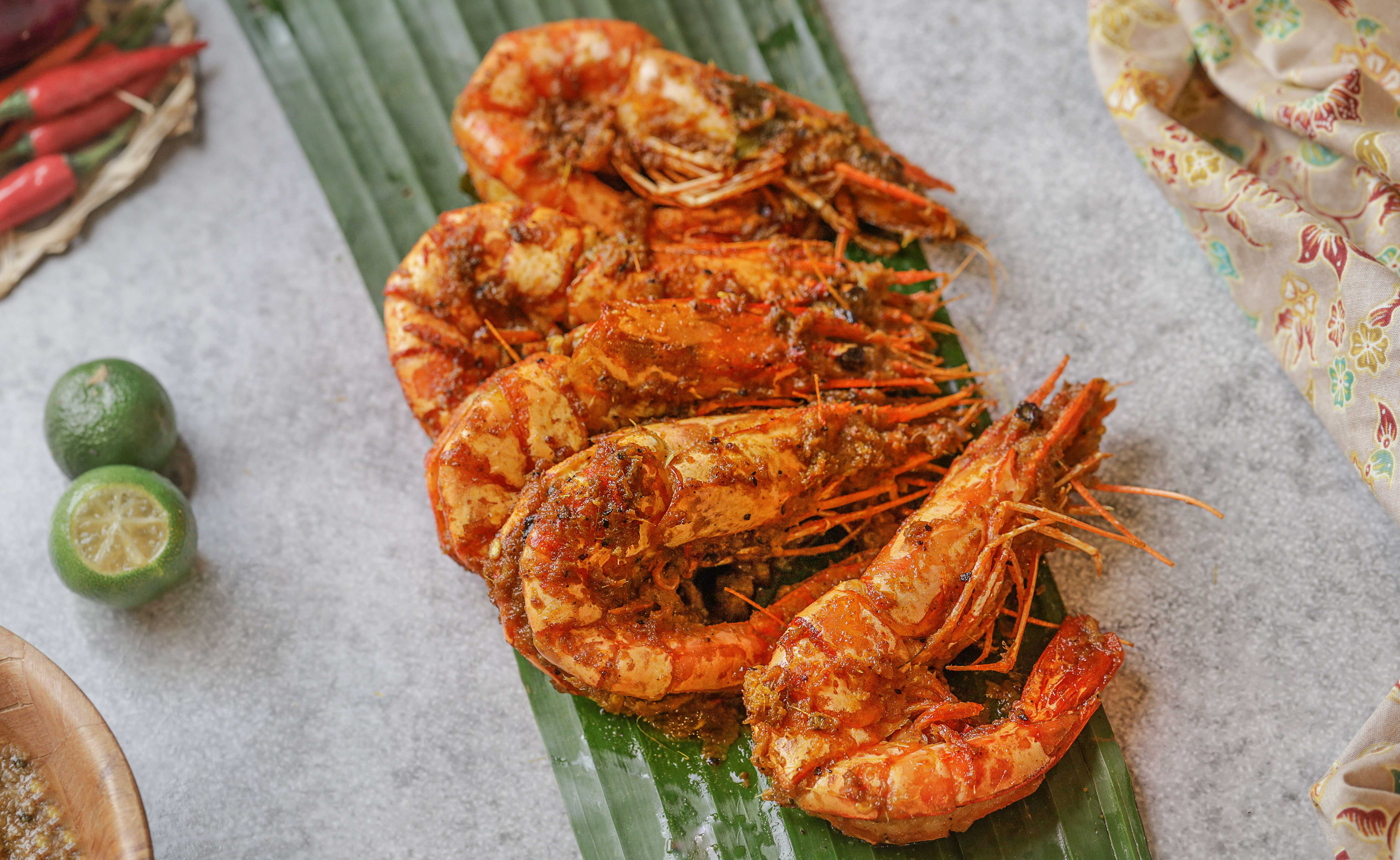 Chef Wan Penang Culture King Tiger Prawn Rendang Rendang Udang Galah
