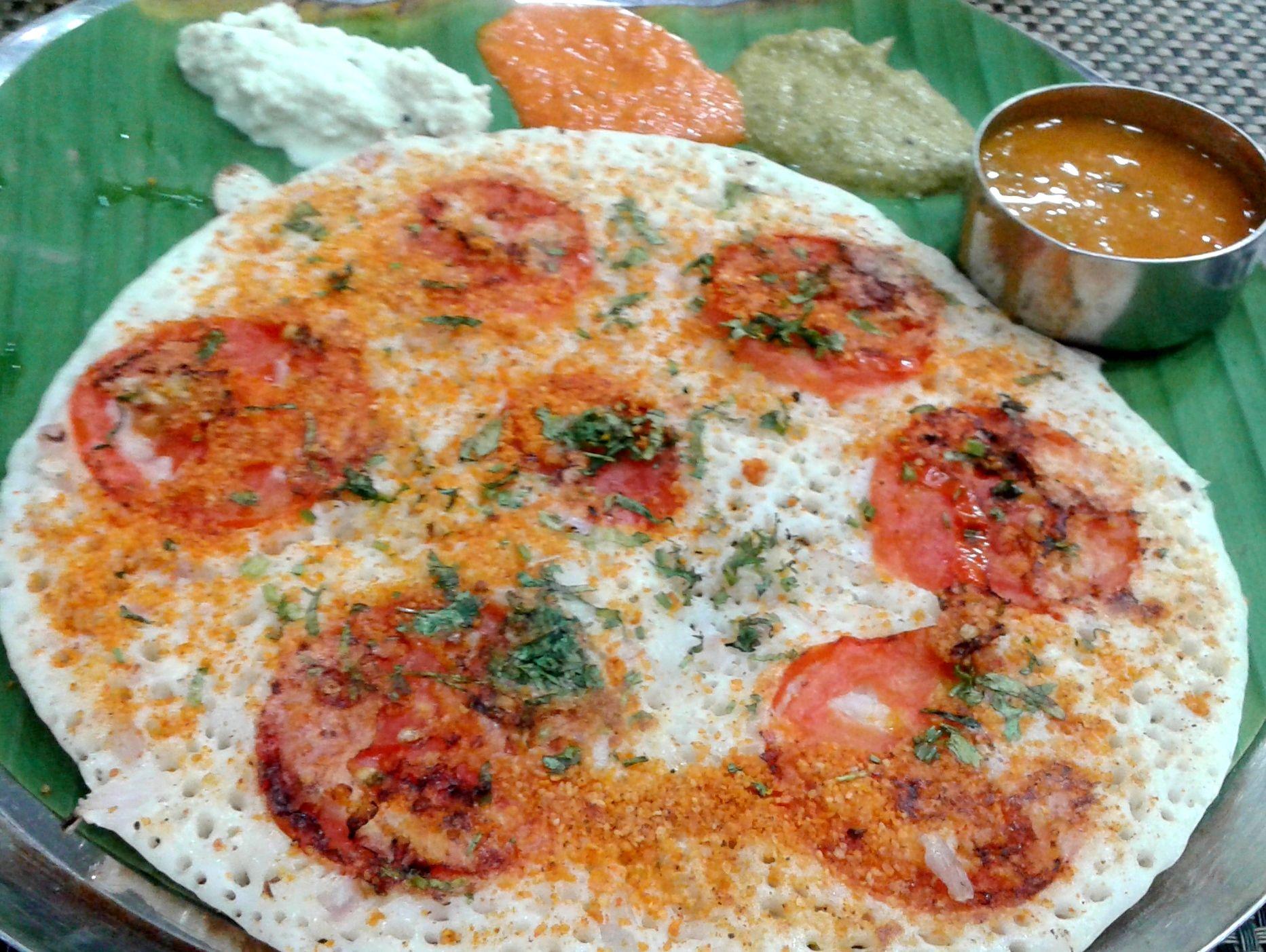 Uttapam Chennai India Street Food