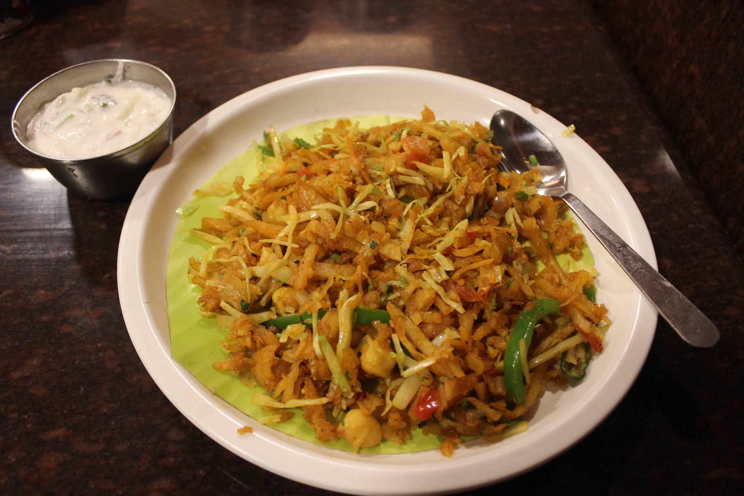 Kothu Paratha Chennai India Street Food