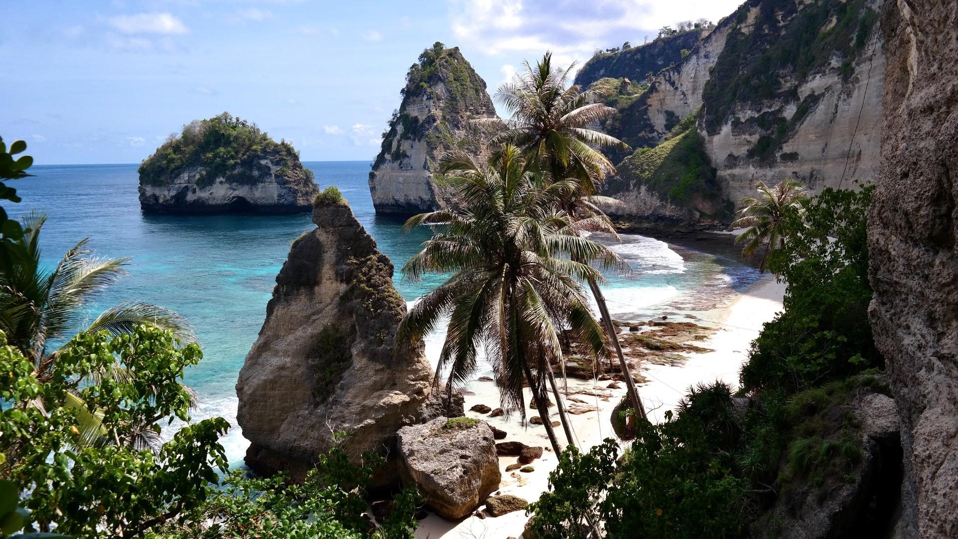 Diamond Beach Nusa Penida Bali Indonesia