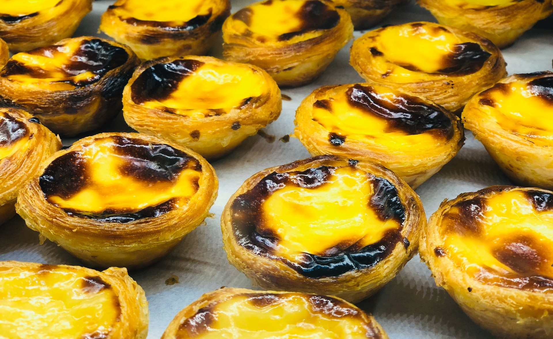 Egg tart Food Pastel De Nata Lisbon Portugal