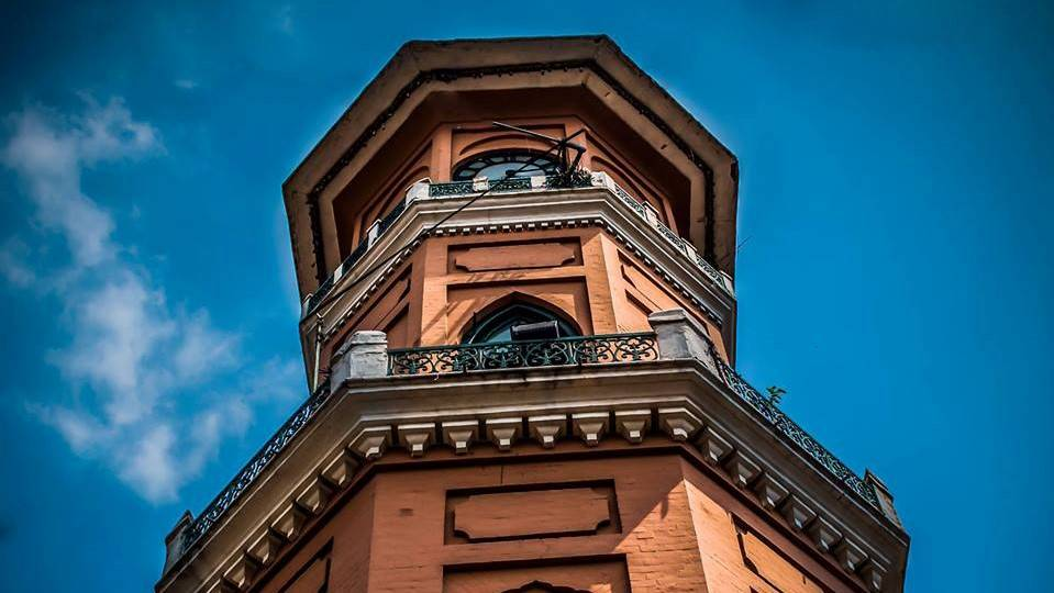 Sir Cunningham Clock Tower Old Peshawar Pakistan