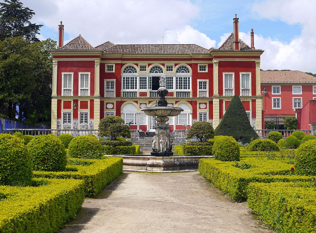 Gardens Palace Marquises of Fronteira Lisbon Portugal