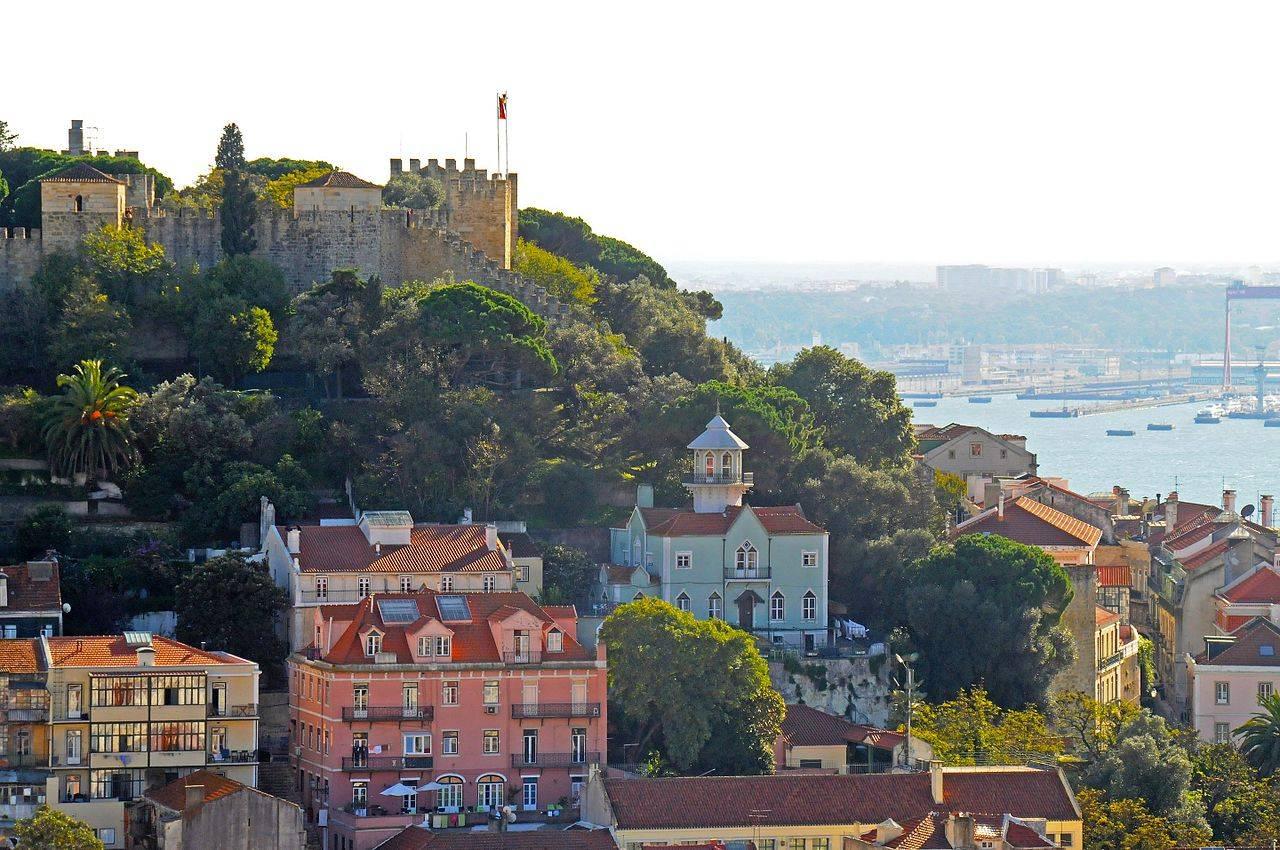 St George Castle Castelo de São Jorge Lisbon Portugal
