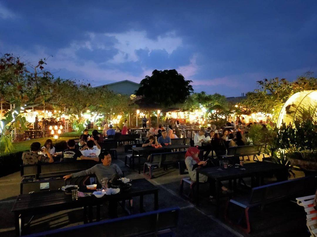 Paskal Food Market Bandung Indonesia