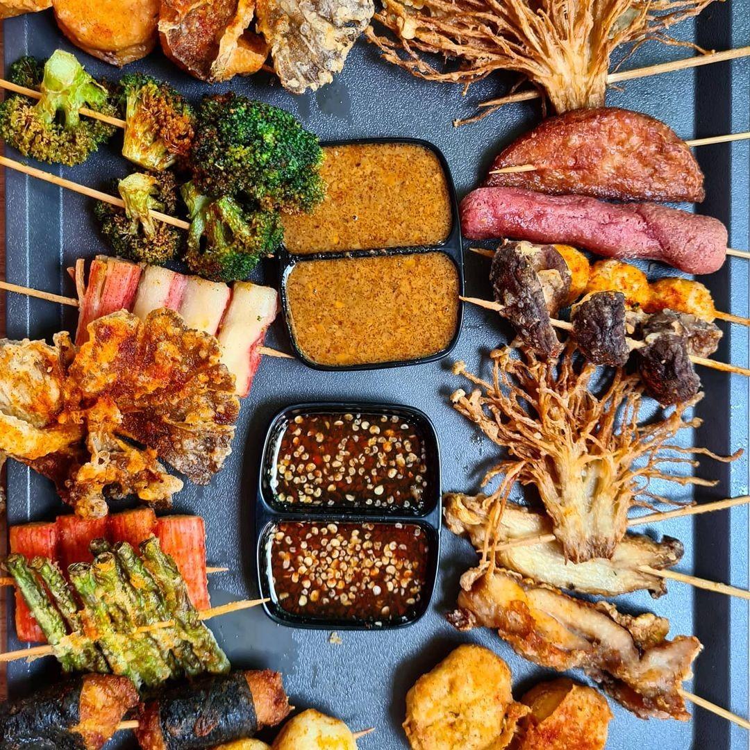 Ah Lock Kitchen Halal Lok Lok Hakka Chinese Japanese food Singapore