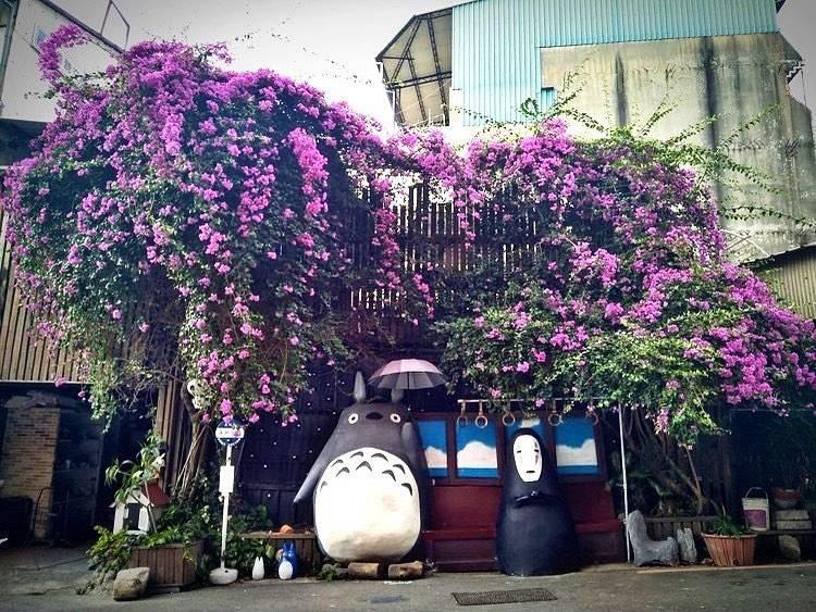 My Neighbor Totoro Bus Stop Taichung Taiwan