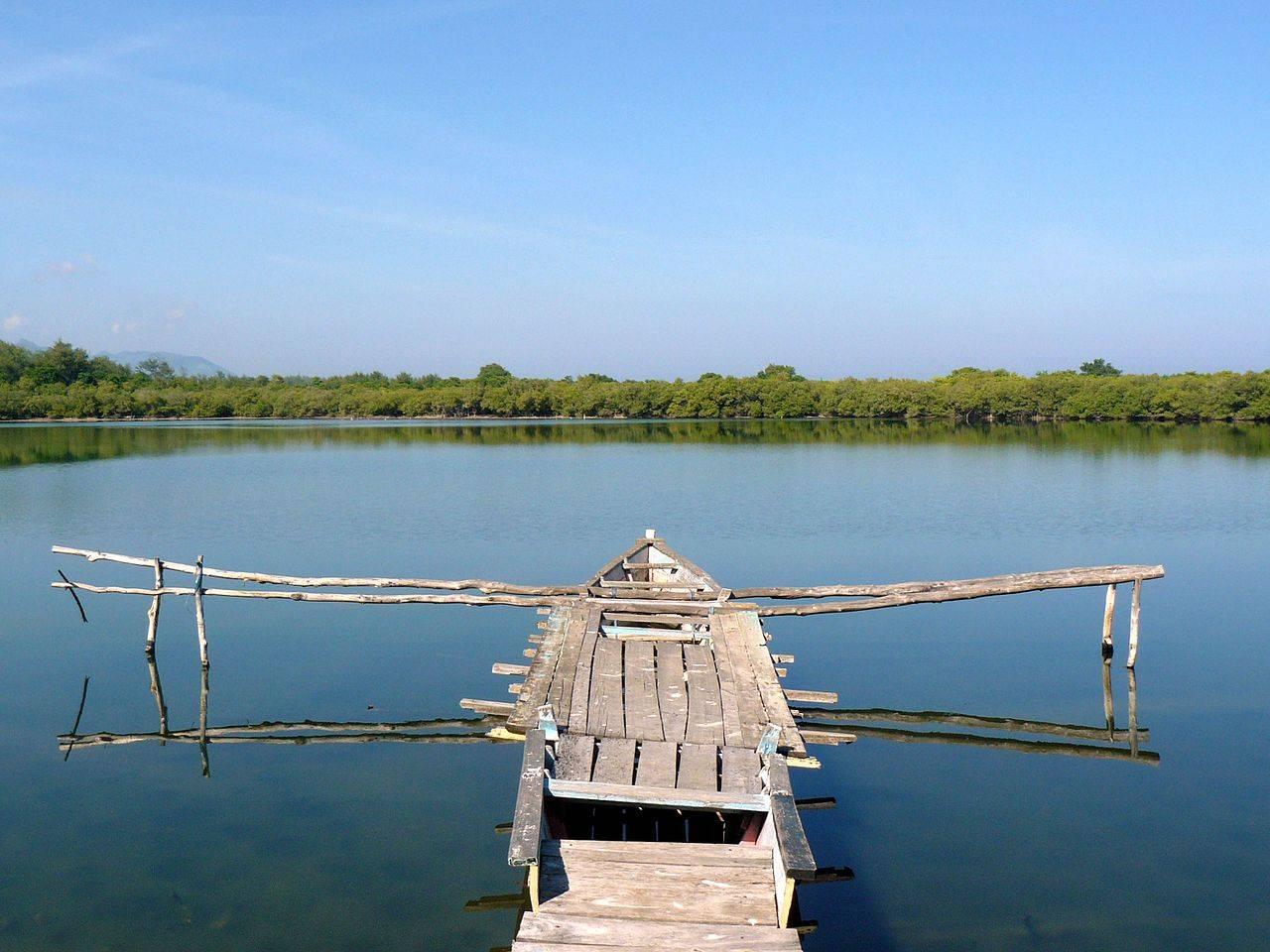 Gili Meno Lake Lombok Indonesia