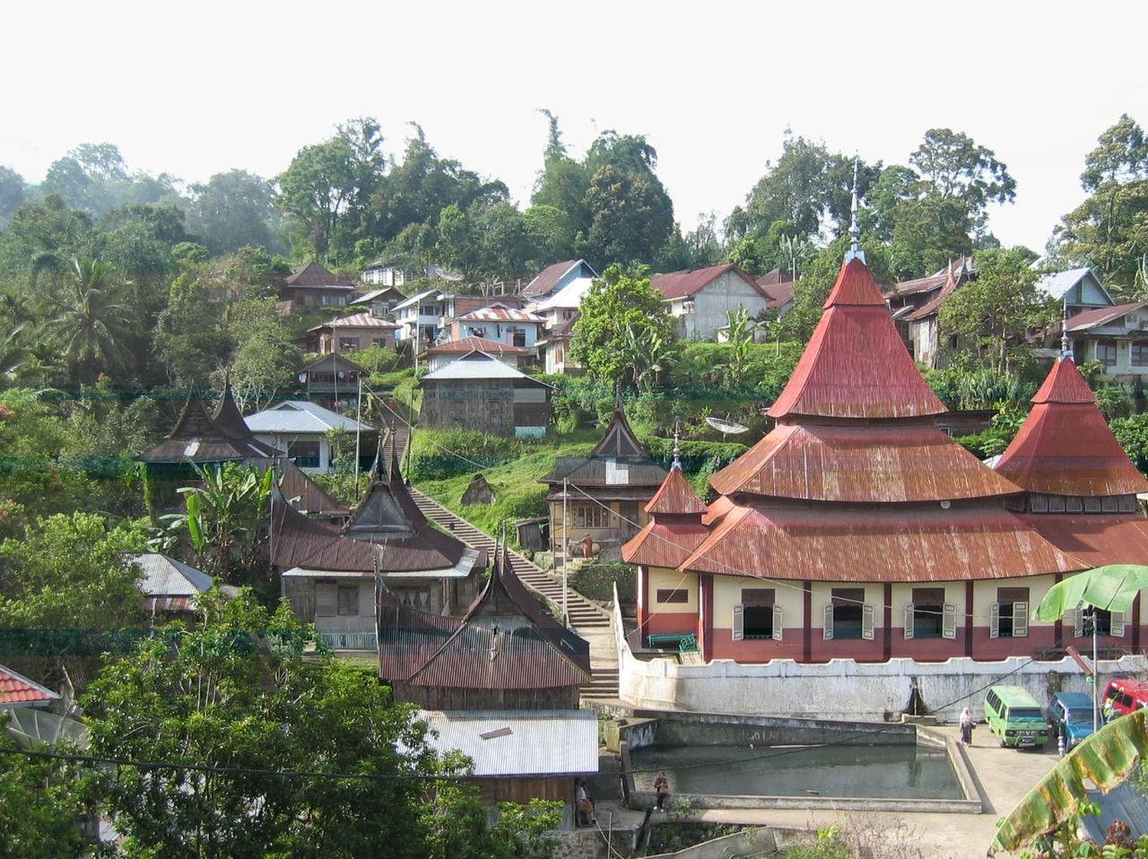 Nagari Pariangan Sumbar Indonesia