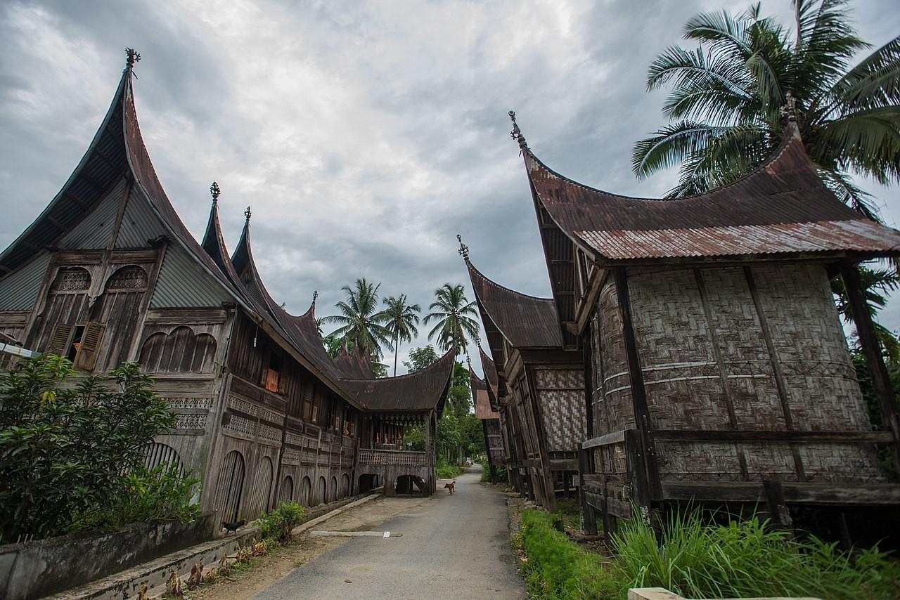 Nagari 1000 Rumah Gadang Sumbar Indonesia