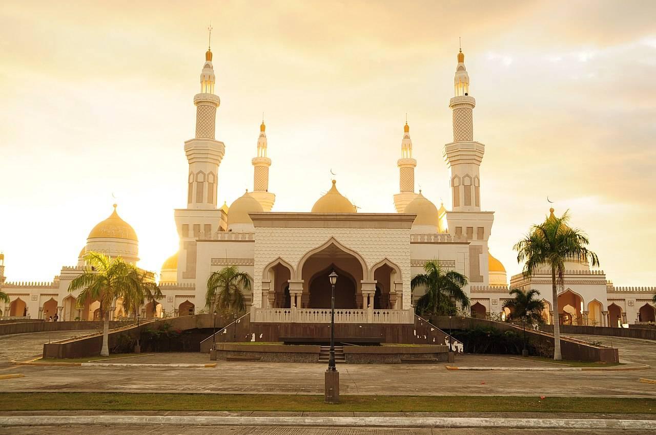 Grand Mosque of Cotabato Sultan Haji Hasanal Bolkian Mosque Mindanao Philippines