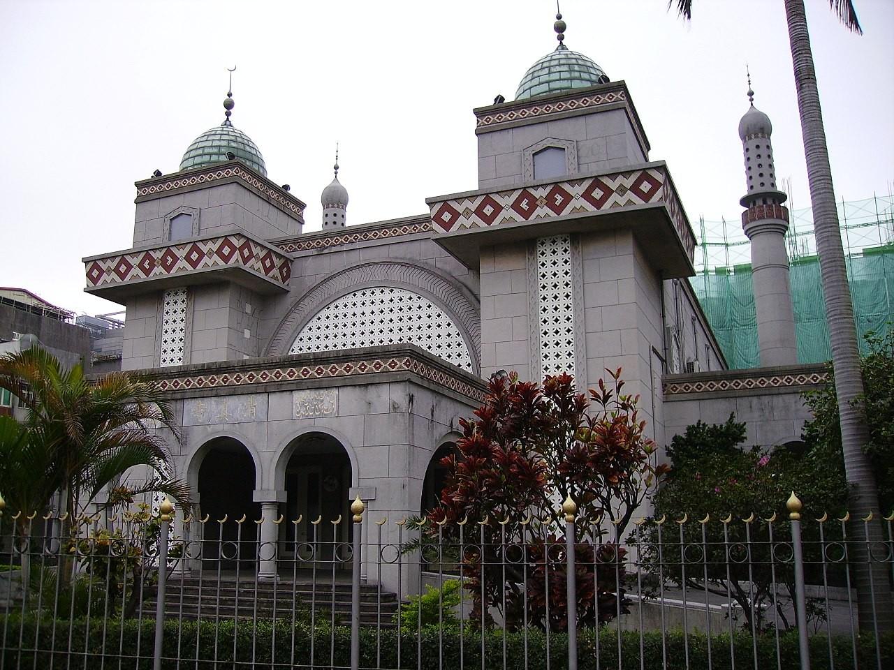 Taipei Grand Mosque The Gaia Hotel Taipei Taiwan