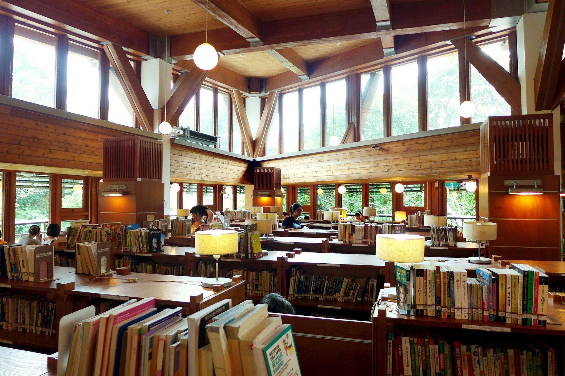 Taipei Public Library Beitou The Gaia Hotel Taipei Taiwan