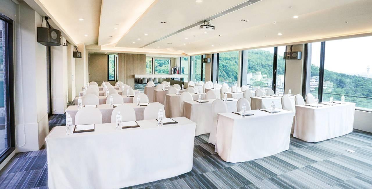 Multiple Purpose Meeting Room The Gaia Hotel Taipei Taiwan