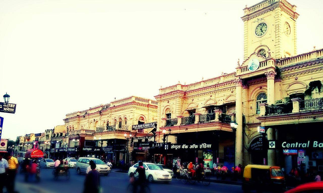 Hazratganj Bazaar Lucknow India