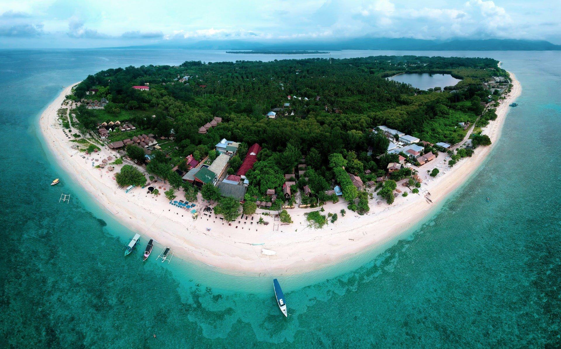 Gili Meno Island Lombok Indonesia