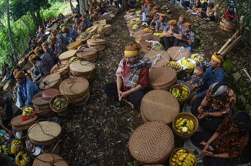 Nyadran Ramadan Tradition Indonesia