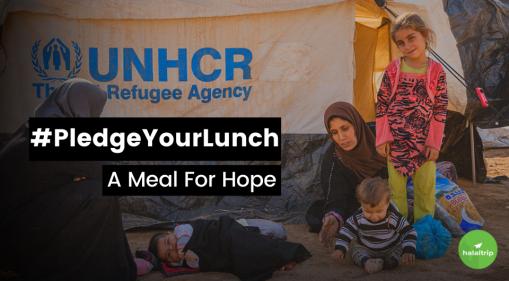 Ramadan 2021: #PledgeYourLunch - A Meal For Hope