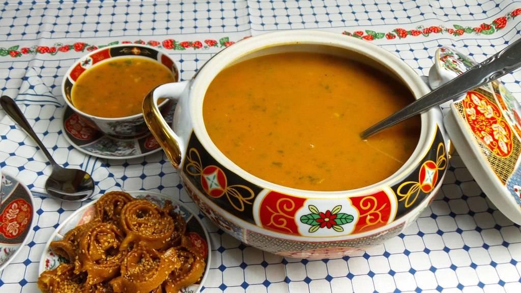 Morocco Harira Soup Ramadan