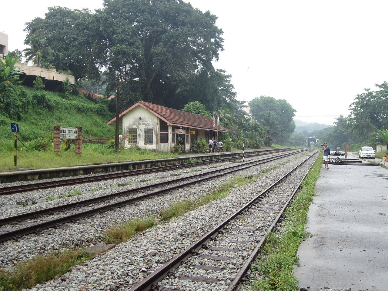 Old Bukit Timah Railway Station
