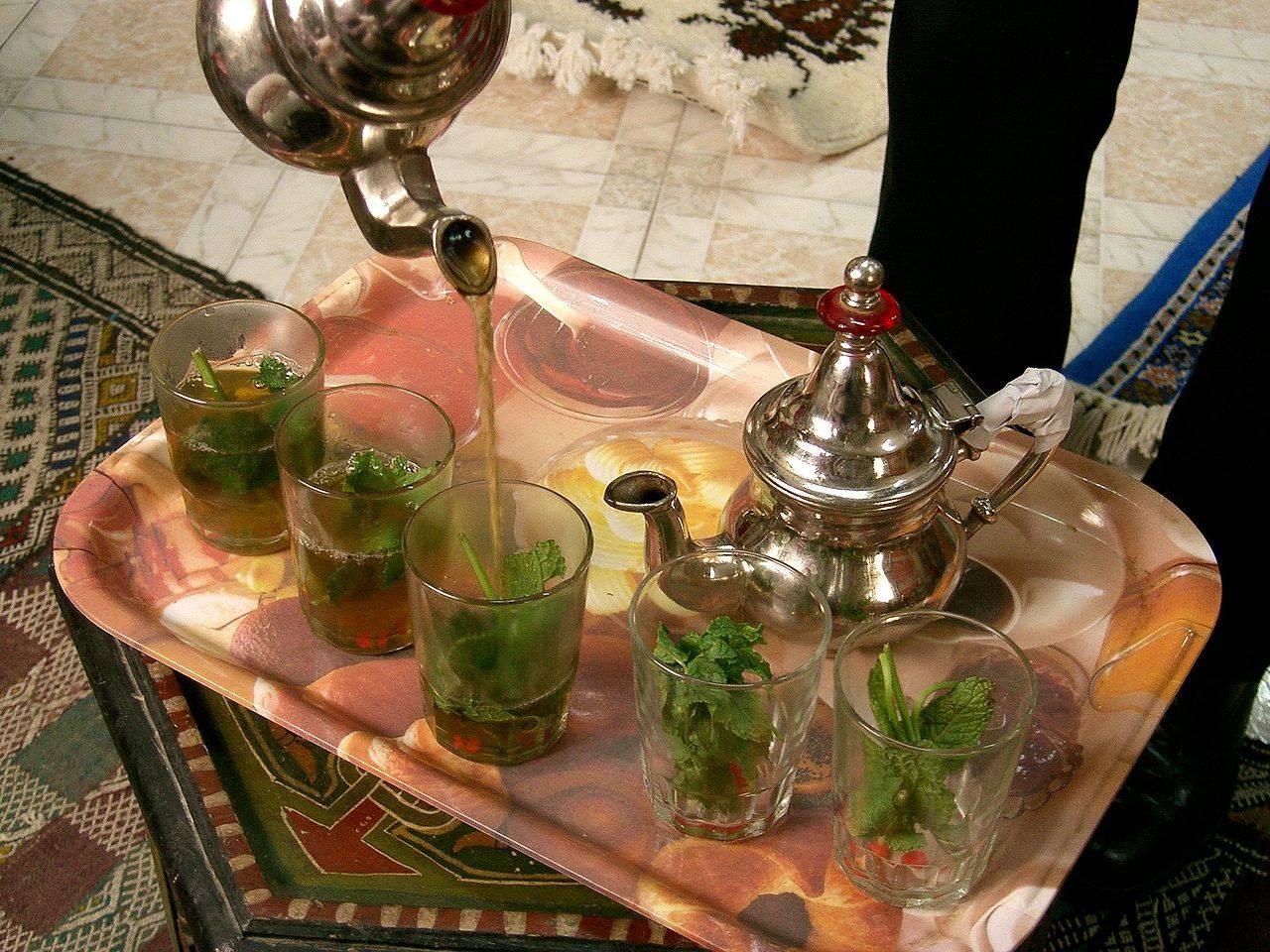 Morocco Tangier Mint Tea Ramadan