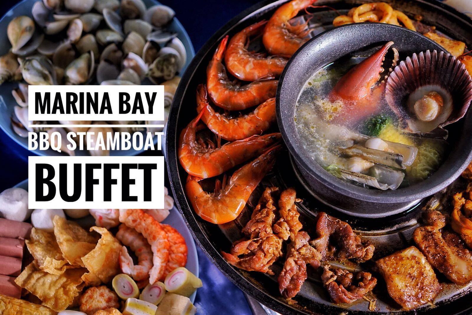 Marina Bay BBQ Steamboat Halal Buffet