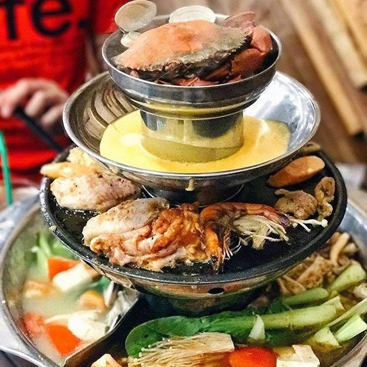 The Flame Cafe Halal Steamboat Buffet Singapore