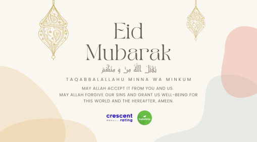 Eid Mubarak Wishes From HalalTrip And CrescentRating! | 2021