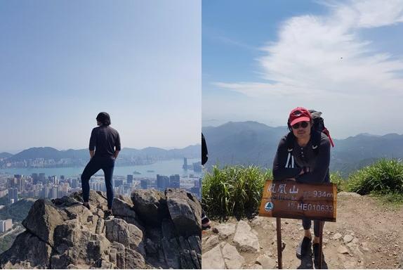 Muzzil at Kowloon Peak and Lantau Peak Hong Kong