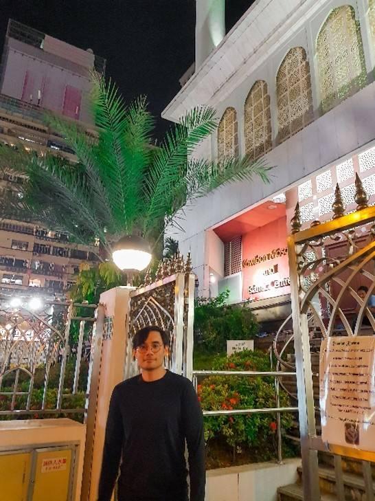 Muzzil Khairat at the Kowloon Masjid