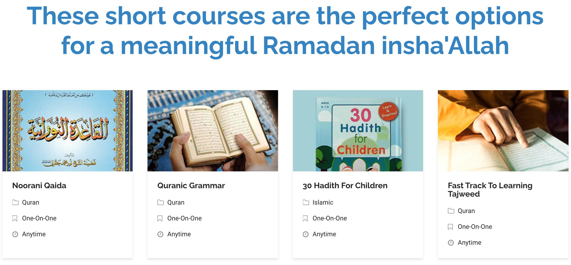 Studio Arabiya Islamic online resources this Ramadan 2021