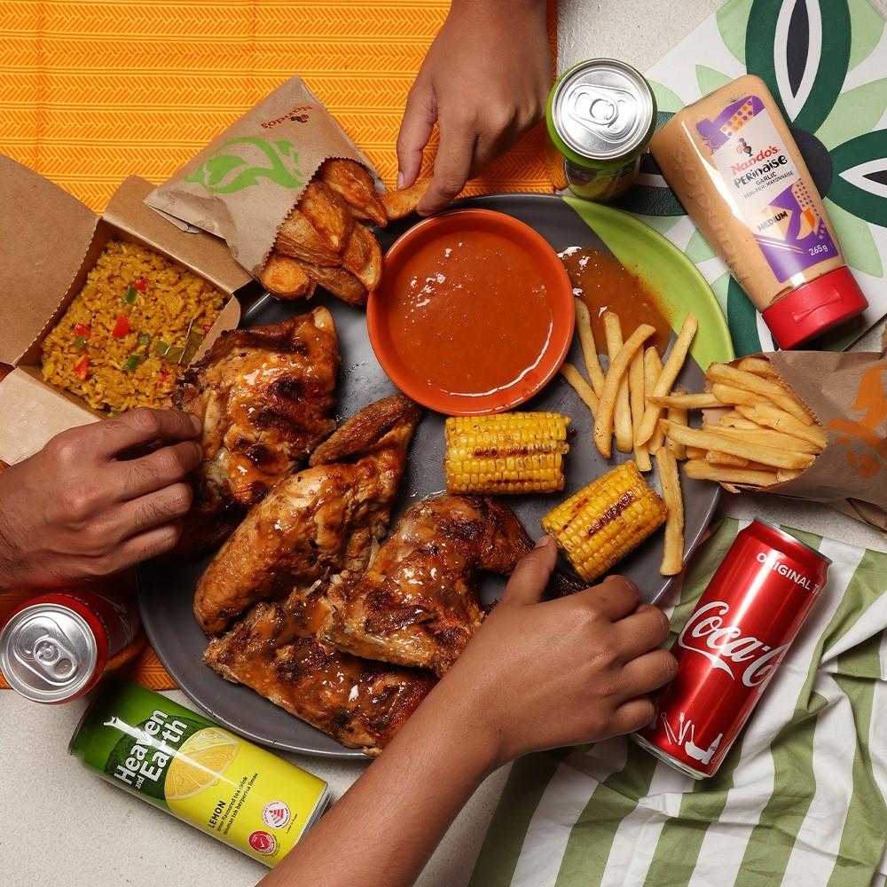 Nandos halal portuguese food singapore