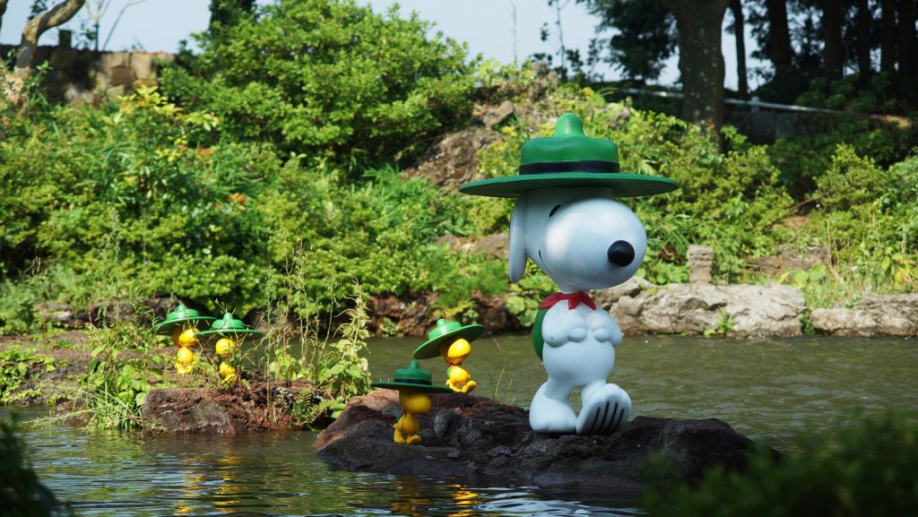 Snoopy Garden Jeju South Korea