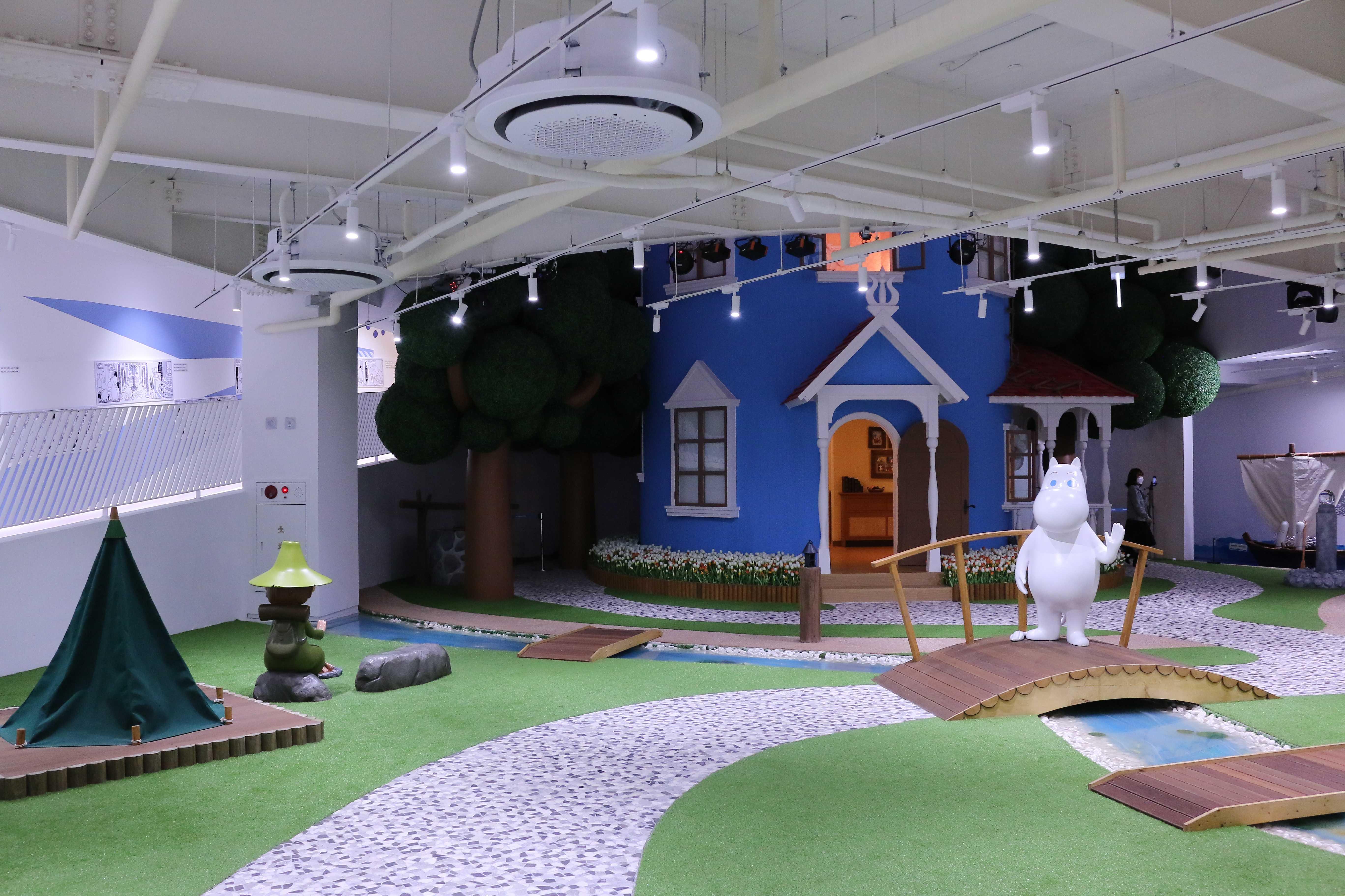Moomin Land Jeju South Korea