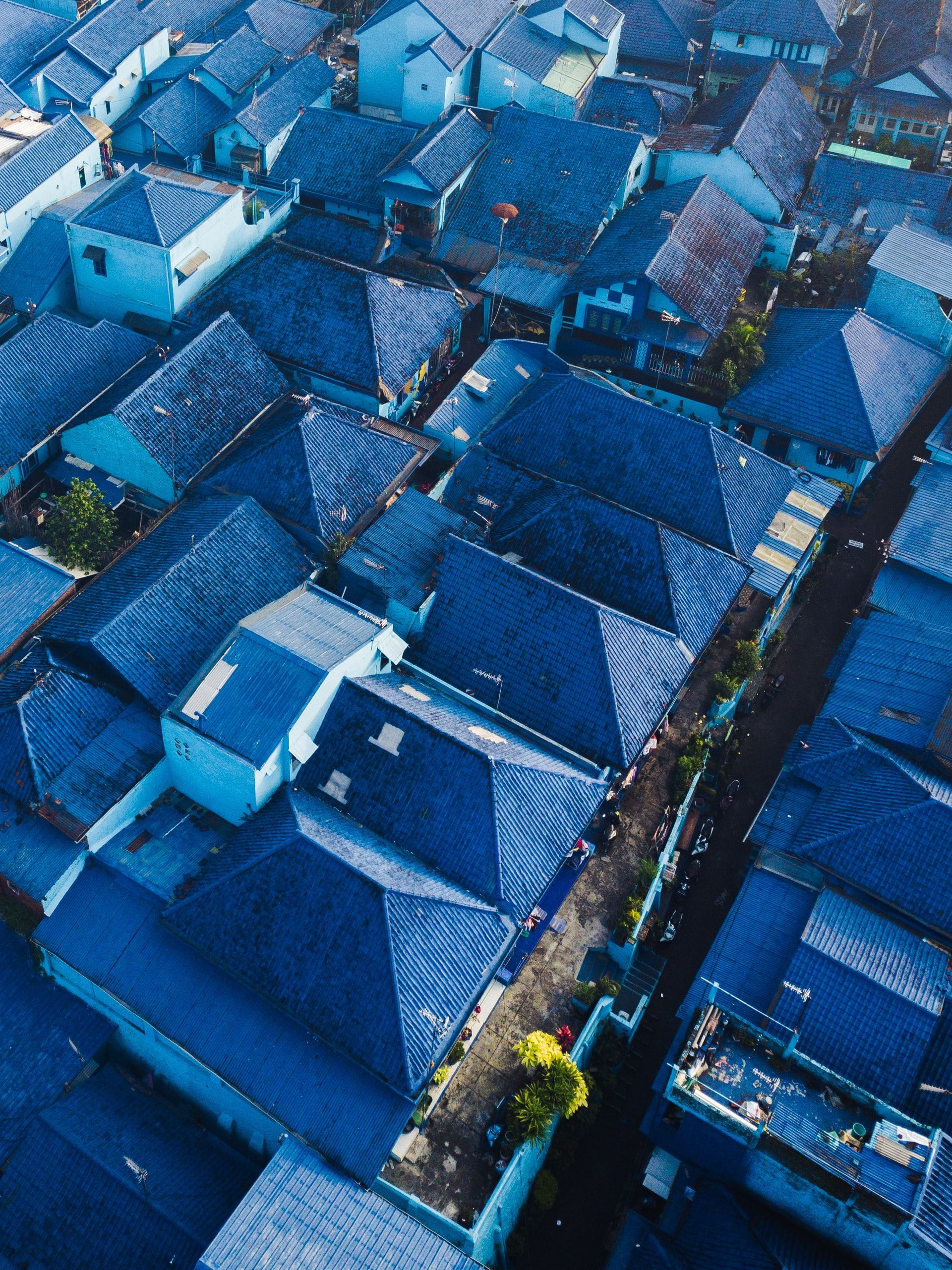 Kampung Biru Arema Malang Indonesia