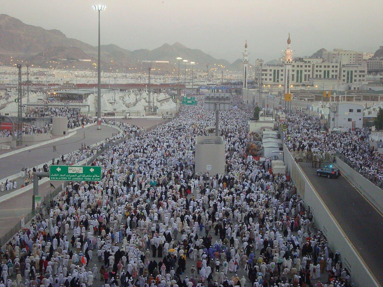 Jamarat Bridge Mina Makkah Madinah Saudi Arabia