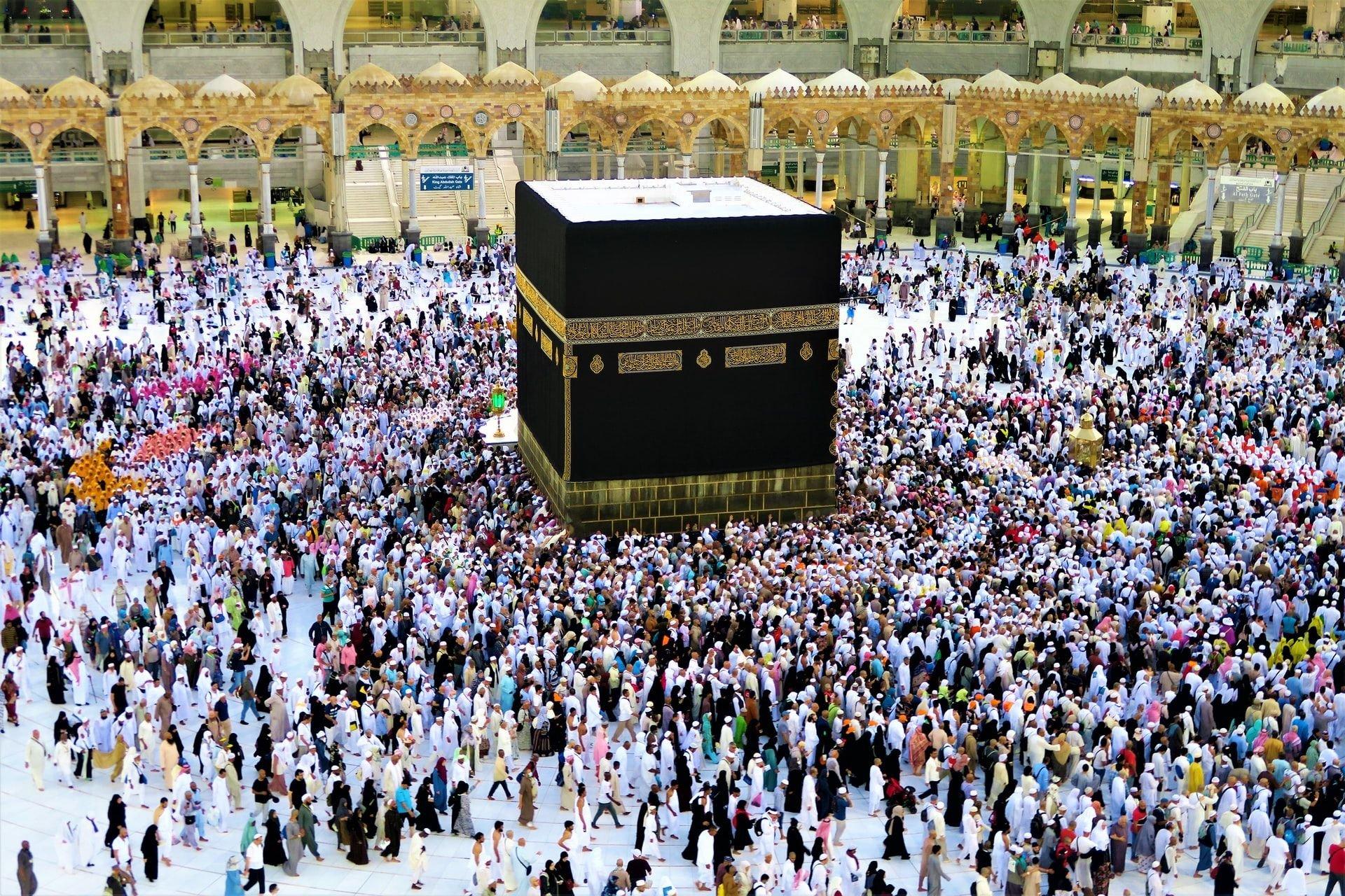 Kaaba Masjid Al-Haram Makkah Mecca Saudi Arabia