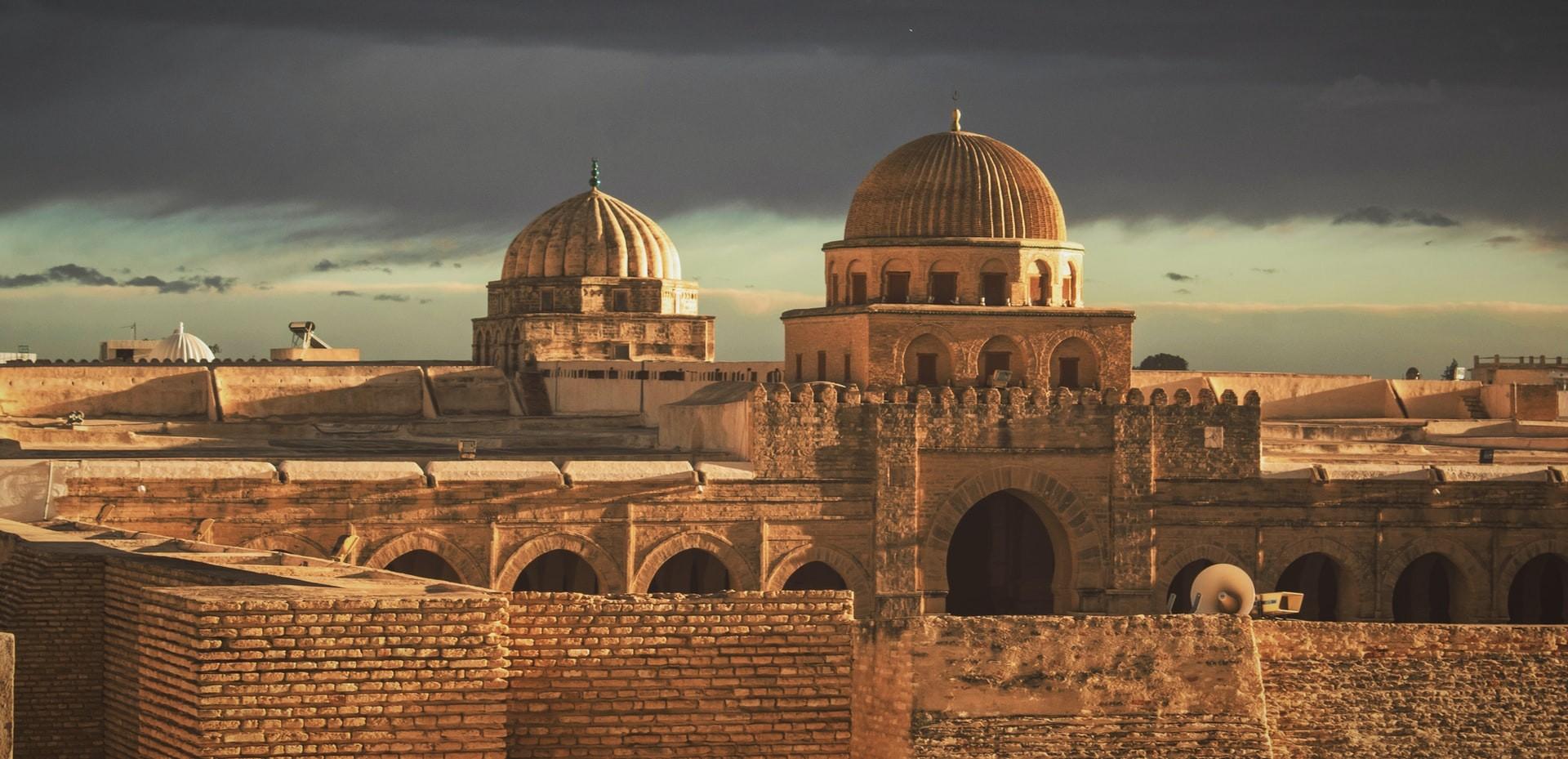 Masjid Okba Mosque Kairouan Tunisia