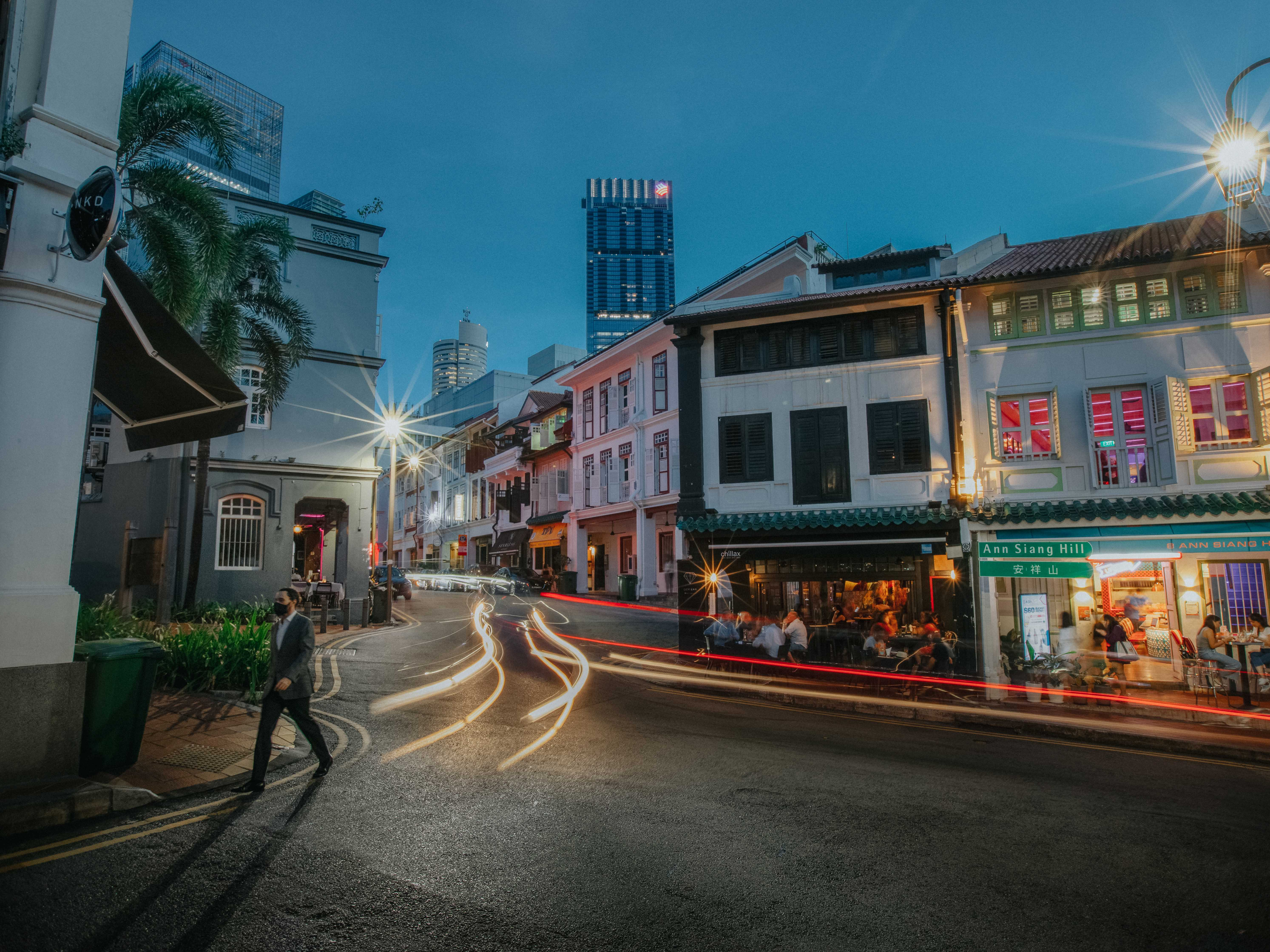 Chinatown Singapore An Siang Hill
