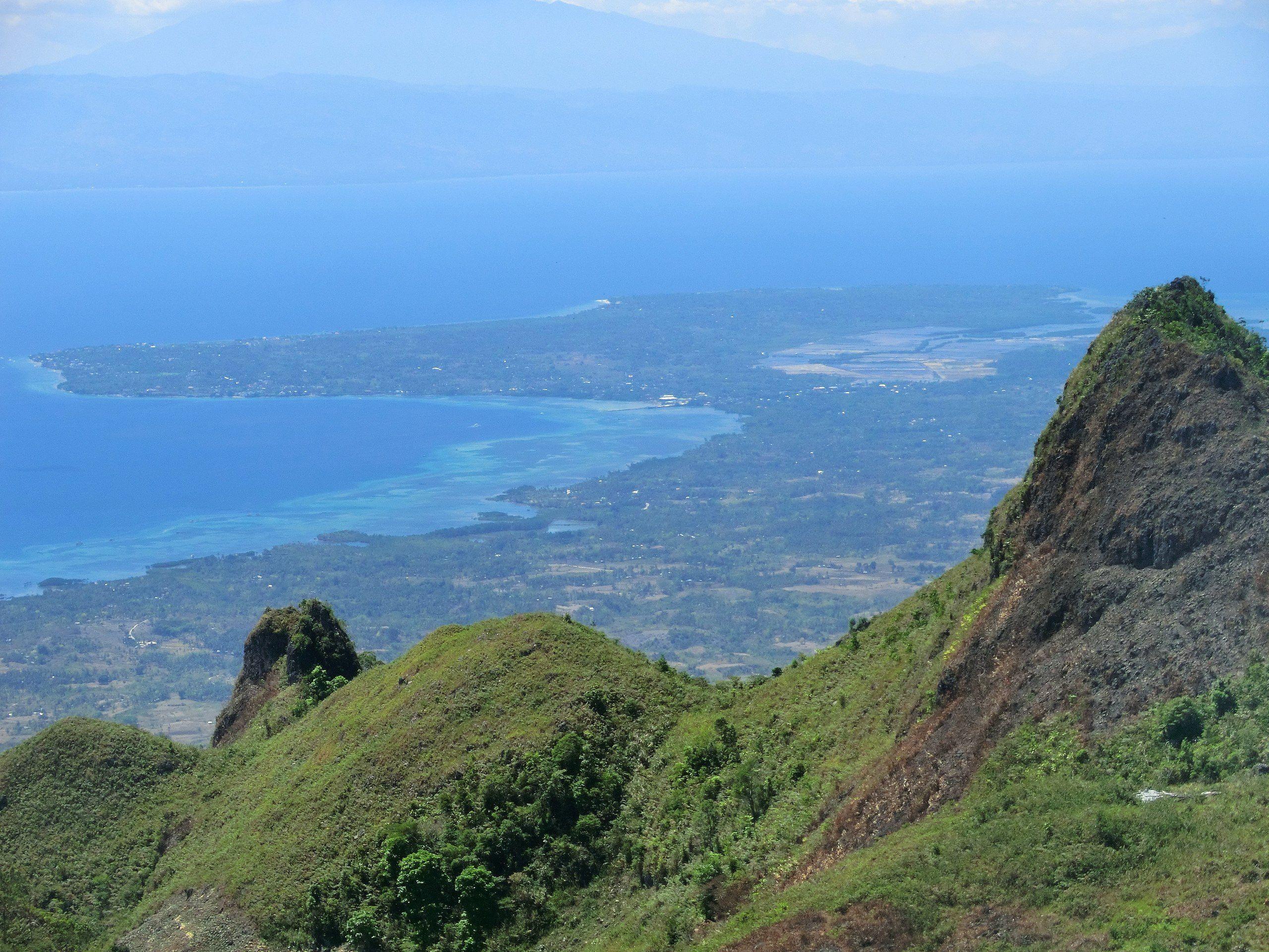 Osmena peak Mantalongon Cebu Philippines