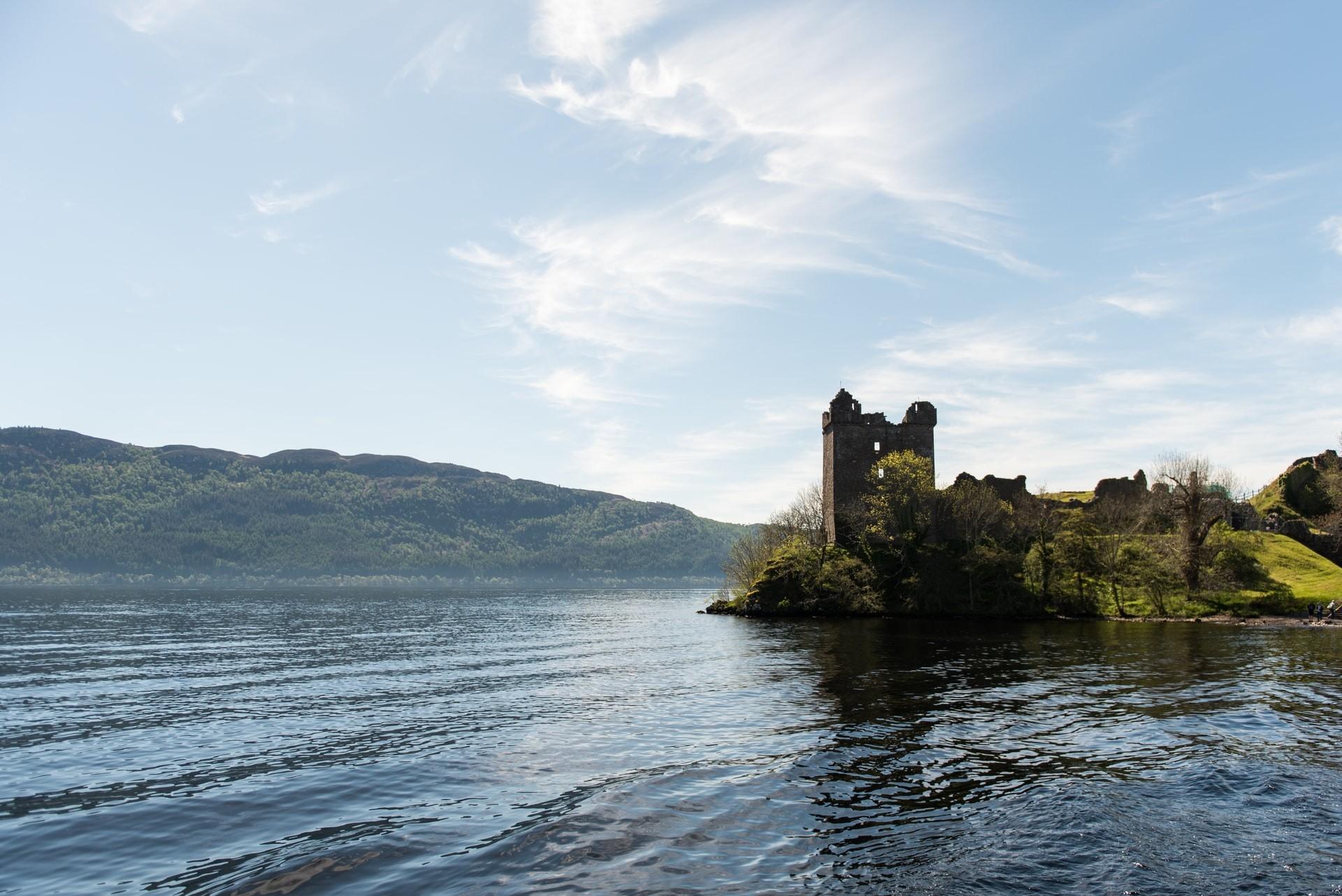 Urquhart Castle Loch Ness Scotland UK United Kingdom
